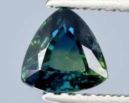Burma Sapphire 0.62 Cts Unheated Teal Color Natural Gemstone