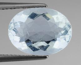 5.51 Ct Brazilian Fluorite Top Class Clarity Gemstone F4