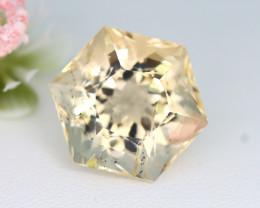 Scapolite 17.91Ct Hexagon Cut Natural Yellow Color Scapolite B2833