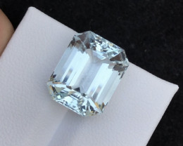 Top Grade 10.35 ct lovely Aquamarine Ring Size~T