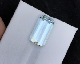 Top Grade 6.20 ct lovely Aquamarine Ring Size~T
