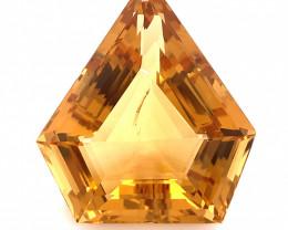 40.44 Cts Top class Fancy cut Madeira Natural Citrine