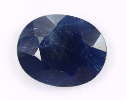 3.37cts Natural Dark Blue Sapphire /MAX2619