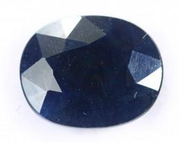 6.06cts Natural Dark Blue Sapphire/MAX2624