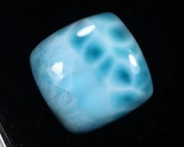 15.99cts Natural Sky Blue Larimar Cabochon /MAOU2637