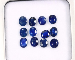 4.20cts Natural Dark Blue Sapphire LOTS /MAY2639