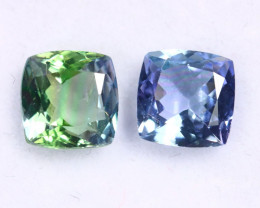 2.20cts Natural Tanzanite Gemstone Pairs / JKL1822