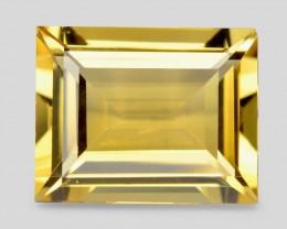 Golden Beryl 3.19 Cts Rare Natural Fancy Yellow Gemstone