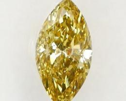 *$NR* Rare Chameleon Diamond IGI Certified 0.32Ct Sealed
