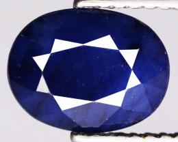 2.02 Cts Deep Blue Sapphire Natural Gemstone