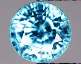 1.67 Cts Blue Zircon Natural Gemstone