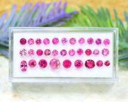 Tourmaline 5.07Ct Round Cut Natural Pink Color Tourmaline Lot A1504
