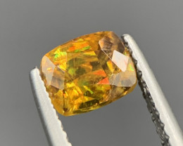 1.15 Ct Awesome Yellow Fire Sphene From Afghanistan. Sph-569