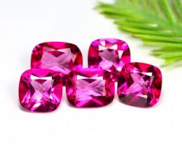 Pink Topaz 25.79Ct VS Octagon Cut Natural Vivid Pink Topaz Lot C2901