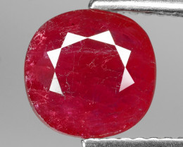 2.07 CT  NATURAL MOZAMBIQUE RUBY BEST COLOR GEMSTONE RB9