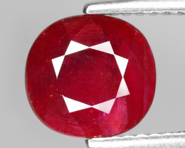 2.39 CT  NATURAL MOZAMBIQUE RUBY BEST COLOR GEMSTONE RB10