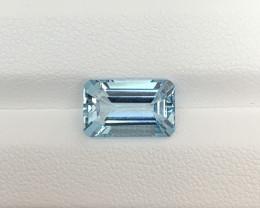 Natural Aquamarine 3.95 Cts Good Quality Gemstone