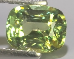 CERTIFIED 0.635 CTS NATURAL COLOUR CHANGE CHRYSOBERYL