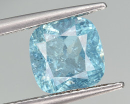 Natural Apatite 1.81 Cts  Excellent Neon Blue Color Gemstone