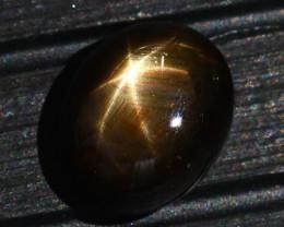 Star Sapphire 6.94Ct Natural 6 Rays Black Star Sapphire E0322/A39
