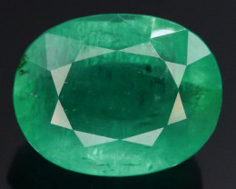 Top Quility 5.65 ct Natural Vivid Green Color Emerald~Afghan belt t