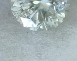Natural solitare 2 ctw size white f colour si diamond 1pcs