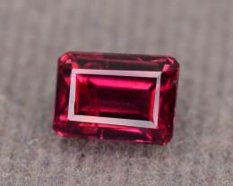 Top Grade 1.15 ct Fancy Cut Red Garnet