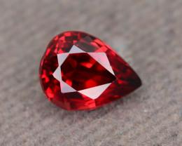 Top Grade 1.75 ct Fancy Cut Red Garnet