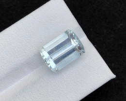 Top Grade 6.25 ct lovely Aquamarine Ring Size~T