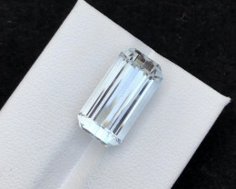 Top Grade 8.70 ct lovely Aquamarine Ring Size~T