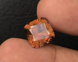10.95 Crt Zircon  Yellowish  Brown Natural Unheated Mine Sri Lanka