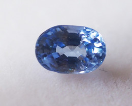 0.76ct clean unheated sapphire