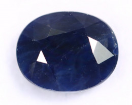 6.12cts Natural Dark Blue Sapphire /MAX2654