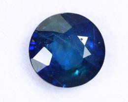 1.44cts Natural Dark Blue Sapphire/MAY2665