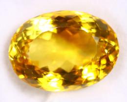 19.03cts Natural Yellow Citrine /MAOT2668
