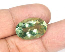 Green Amethyst 31.44 Cts Amazing  Fancy Loose Gemstone