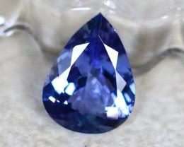 Tanzanite 1.55Ct Natural VVS Purplish Blue Tanzanite  E0515/A45