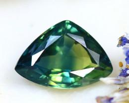 Unheated Sapphire 0.77Ct Natural Peacock Sapphire D0605/B9