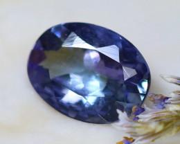 Tanzanite 1.02Ct Natural VVS Purplish Blue Tanzanite D0616/A45