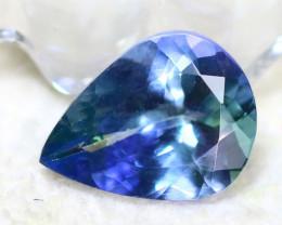 Tanzanite 1.54Ct Natural VVS Purplish Blue Tanzanite  D0617/A45