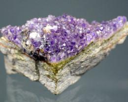 1150 Natural Purple Amethyst Specimen@ Africa