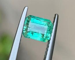 1.18 Carats Natural Panjshir Emerald