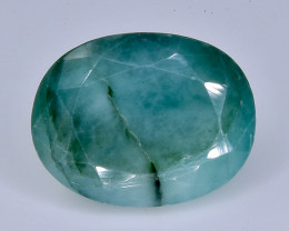5.98  Crt emerald   Natural  Faceted Gemstone.( AB 39)