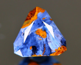 Pietersite 2.68Ct Master Cut Natural Namibia Meuve Blue Pietersite B0232
