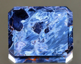 Pietersite 35.28Ct Octagon Cut Natural Namibia Meuve Blue Pietersite A0320