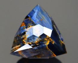Pietersite 7.53Ct Master Cut Natural Namibia Meuve Blue Pietersite B0310
