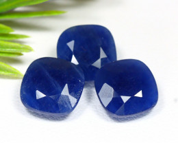 Blue Sapphire 14.75Ct Natural Unheated Madagascar Blue Sapphire B0318