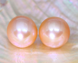 11.2mm 19.14Ct Natural Oceania South Sea Golden Pearl C0334