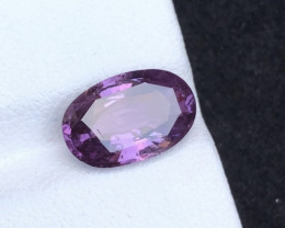 GIA Certified Top Clarity & Color 3.55 ct Purple Sapphire