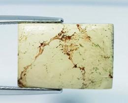 11.14 ct Natural China Jasper Rectangular Cabochon  Gemstone